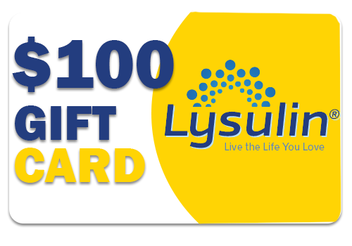 Lysulin Diabetes Supplement $100 Gift Card