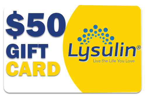 Lysulin Diabetes Supplement $50 Gift Card